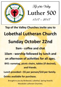 promo poster Luther 500 Top of the Valley final