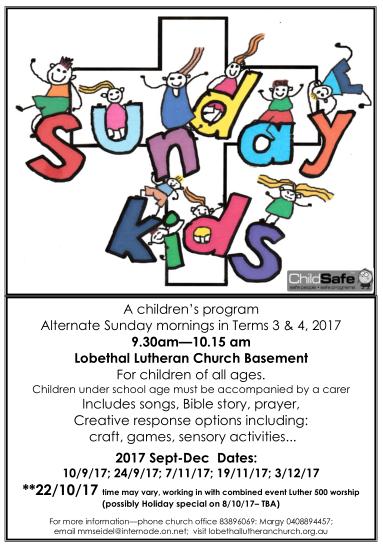 sunday kids 2017 - 2