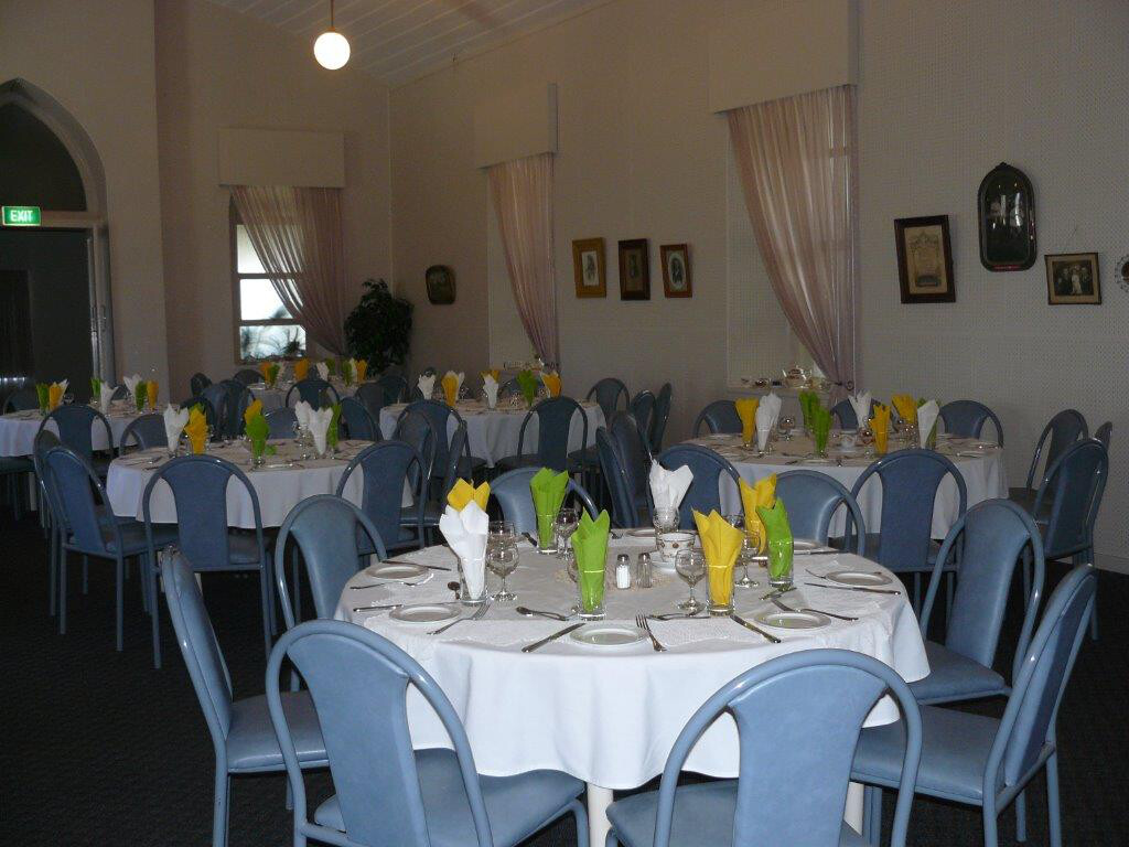 photo of reception centre